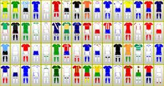 FIFA World Cup Uniforms: SOUTH AFRICA 2010