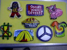 Occupy Wall Street Cookies , Cookies In Bloom 602 955-3030