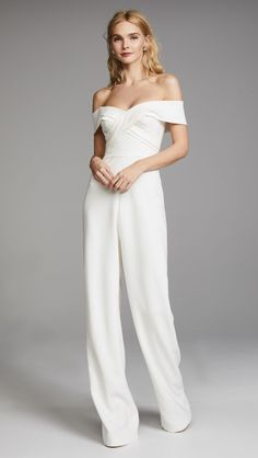 online shopping for Theia Colette Jumpsuit from top store. See new offer for Theia Colette Jumpsuit Wedding Pantsuit, Wedding Suits, Bobs, Wedding Jumpsuit, Homecoming Jumpsuit, Bridesmaid Jumpsuits, Bride Suit, Colette, Bridesmaid Outfit