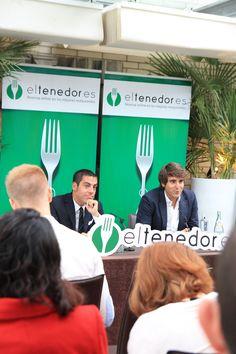 """Rueda de prensa de presentación de """"eltenedor.es te guía Barcelona 2013"""" - Terraza del Claris"""
