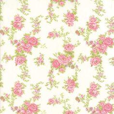 Moda Fabrics Brenda Riddle Designs Fleurs Floral Climbing Fleurs Natural | Fabric