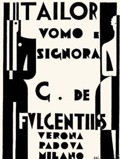 By Bruno Angoletta (1889-1954), 1930, Tailor De Fulgentiis. (I)