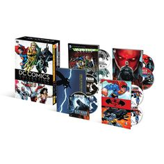 Dc Comics Collection Volume Two (4 Graphic Novels + 4 Animated Movies) (Blu-ray) from Warner Bros.: The world's… #Movies #Films #DVD Video