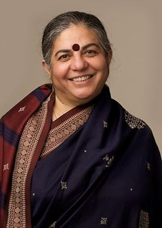Besides being a physicist, ecologist, activist, editor and author of numerous books, Dr. Vandana Shiva is a tireless defender of the environment. She is the founder of Navdanya, a movement for biodiversity conservation and farmers' rights. She is the founder/director of the Research Foundation for Science, Technology and Natural Resource Policy. Her most recent books are entitled, Biopiracy: The Plunder of Nature and Knowledge and Stolen Harvest: The Hijacking of the Global Food Supply.