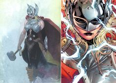 "WTF!!NEW THOR IS A WOMAN!MARVEL-LEAVE THE ONLY ""GOD"" THOR ALONE,PLEASE!!"