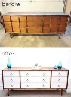 Design Sponge Before & After: Three Dresser Transformations