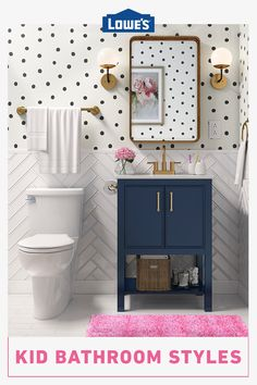 Give your kid's bathroom a refresh with stylish options that add fun and function for any age and budget.