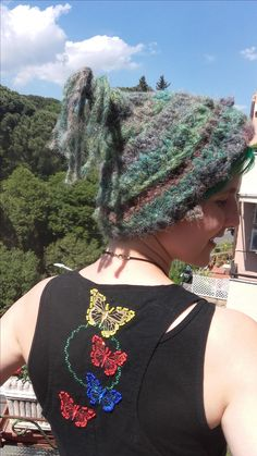 www.etsy.com/listing/515776196/crochet-freeform-pussy-hat-green-forest