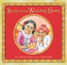 FICTION:Sona is excited about attending her first Indian wedding, especially since her sister is the bride, but when she learns that tradition requires her to steal the groom's shoes during the ceremony she must ask her annoying little cousin, Vishal, for help.