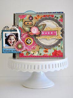 Crate Paper Layout - beautiful!