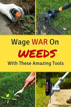 Get those weeds out of your landscaping once and for all with these unbeatable weeding tools.