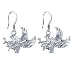 flying cool eagle for kids high quality Silver Earrings for women Wholesale silver earrings /RGNBPJOJ PUCXBRKJ