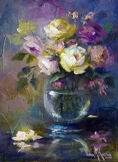 Pastel by artist Nora Kasten.