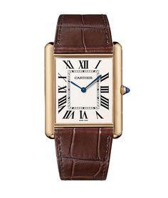 Cartier Tank http://www.vogue.fr/joaillerie/shopping/diaporama/montres-tempo-au-masculin-horlogerie-dandy-cartier-jaeger-lecoultre-a-lange-soehne/14757/image/809947#!montres-tempo-au-masculin-horlogerie-dandy-cartier-tank-louis-cartier