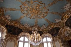 Hotel Soubise Oval reception room of the Princess Soubise, early 18th Century, in the palace of the Prince Soubise in P...