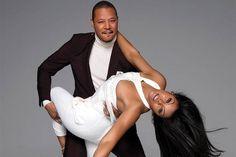 Taraji P. Henson and Terrence Howard for Emmy Magazine Source: FashionGoneRogue.com  Signing Out -- Esmesha