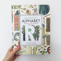 An Artist's Alphabet � by Norman Messenger � Just when I thought I couldn't possibly add another ABC book to my repertoire, I opened this book onto the page featuring the letter 'G', and had to go back to 'A' and savour my way through the rest of the exquisite alphabet. It's clever, richly illustrated and imaginations are pulled and stretched and delighted. It's my pick for this months #littlelitbookseries theme of WONDER because it takes every day letters and objects and turns them into…
