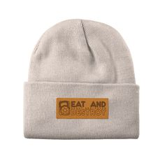 Winter is coming. We keep you warm and cosy. Beanie, Punk, Unisex, Winter Is Coming, Cosy, Donuts, Warm, Artificial Leather, Frost Donuts