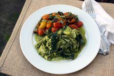 Vegan Pesto Zucchini Alla Norma
