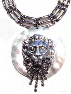Silvered Lion Art Decor, Waterfall, Lion, Jewelry Design, Auction, Bracelets, Silver, Leo, Waterfalls