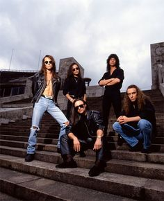 Queensryche: My favorite alternative metal band of the 80s. First album I ever heard was Rage for Order and I was hooked.  Got to watch them perform their entire Operation Mindcrime album live about 6ft from the stage so kickass :)