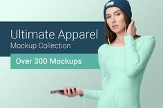 Ultimate Apparel Mockup Collection. Save Time & Money - 300+ mockups: t-shirt, polo, tank top, hoodie, sweater, and more styles! All you need to create beautiful presentations, instantly * 3 in 1 Presentation - Showcase your design in 3 different modes: on models, flat lay or hanging. Not only that, but you can choose from a handy set of fashion accessories and tag / label close-ups * EASY FOR BEGINNERS - ADVANCED FILES - 4K Ultra-HD Files by Mockup Cloud | TaylorAdams4Me on @creativemarket