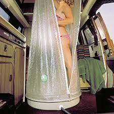 Image result for furgoneta camper ducha