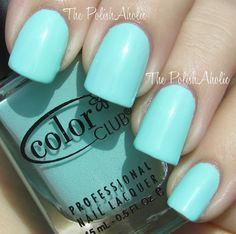 Blue-ming - Nail Polish Color Club