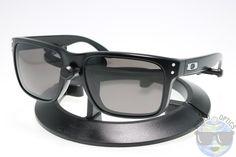 Oakley Holbrook Sunglasses OO9102-01 Matte Black w/ Warm Grey Lenses