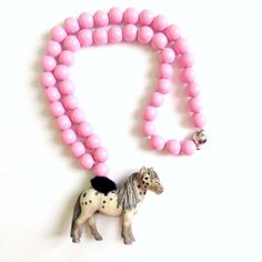 Rose Pony Necklace Pirates & Ponies