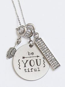 "Beautiful ""Be-You-tiful"" Necklace www.myjbloom.com/brendabenline"