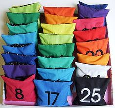 Full Set Count and Spell Color Recognition Beanbags - by ELLE BELLE on Etsy! posted by a Precision machining China company and Chinese CNC machined parts manufacturer. Math School, Primary School, Number Games, Math Games, Fraternal Twins, Class Activities, 2 Year Olds, Kindergarten Math, Full Set