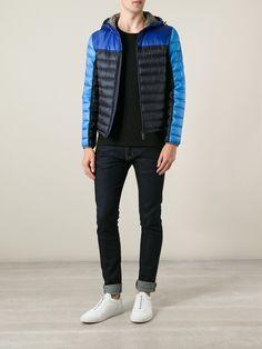 Moncler Tonal Padded Jacket - Al Duca D'aosta - Farfetch.com