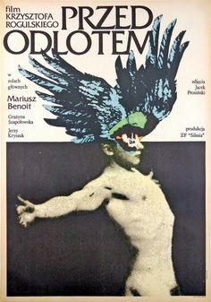 Break Away Przed odlotem Klimowski Andrzej Polish Poster