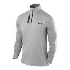 TCA Winter Run Womens Half-Zip Long Sleeve Running Jacket