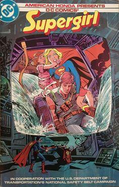 Chris is on Infinite Earths: American Honda Presents DC Comics' Supergirl (1984...
