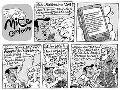 Mice Cartoon, Kompas Minggu: Penipuan Lewat SMS