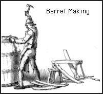 Cooper- barrel making