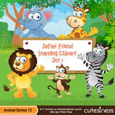 Animal Series 13 Clipart : 49 Graphics Best Value    ★★★THIS IS A DISCOUNTED ITEM ★★★ This item does not qualify for Buy 2 Get 2 Promotion due to