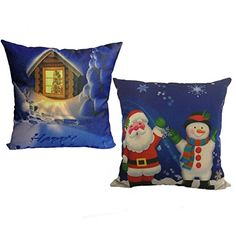Happy Merry Christmas Pillow Cases Home Decorative Throw Pillow Case Cushion Cover Christmas Happpy Snowman Warm Light Window Pillow Cases Cotton Linen for Home Sofa Bedding Set of 2 Happy Merry Christmas, Christmas Snowman, Celebrating Christmas, Throw Pillow Cases, Decorative Throw Pillows, Christmas Pillow Covers, Cushion Covers, Cotton Linen, Cushions