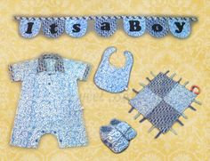 Baby Boy Set by Sweet Batik Indonesia.