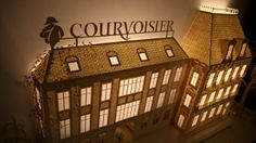 Alchimie de Courvoisier - Projected Paper Diorama by Davy and Kristin McGuire | https://vimeo.com/66884175