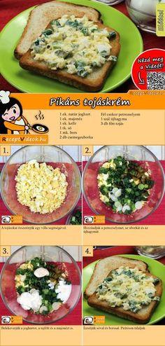 Savory custard - Food and Drink Food N, Diy Food, Good Food, Food And Drink, Yummy Food, Tasty, Veggie Recipes, Diet Recipes, Cooking Recipes