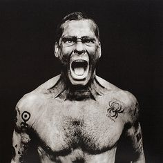 Henry Rollins by Anton Corbijn
