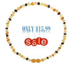 Amber Teething Necklace for Babies on LOWEST PRICE NOW Baltic Amber Teething Necklace, Natural Pain Relief, Beaded Necklace, Babies, Beaded Collar, Babys, Pearl Necklace, Beaded Necklaces, Baby