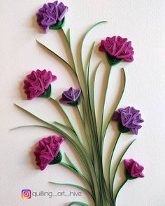 """""""Where ever life plants you ,bloom with gra - Quilling Paper Crafts Paper Quilling Tutorial, Paper Quilling Flowers, Paper Quilling Cards, Paper Quilling Jewelry, Paper Quilling Patterns, Quilled Paper Art, Quilling Paper Craft, Paper Crafts, Quilling Images"""