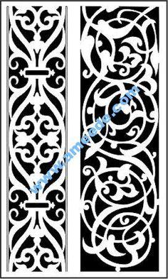 Islamic Art Pattern, Arabic Pattern, Pattern Art, Pattern Design, Free Vector Files, Vector Free Download, Jaali Design, Cnc Cutting Design, Baroque Art