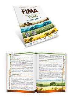 #MisTrabajos #maquetación de la Guía de Visitante de 2016 de la Feria de Agricultura en Zaragoza, FIMA. Branding, Editorial Design, Books, Pink, Photomontage, Agriculture, Zaragoza, Design Web, Brand Management