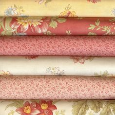 Oasis by 3 Sisters for Moda Six Fat Quarters by LisasSewingRoom, $14.24