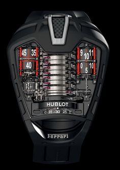 Brutalidad de Reloj. #Ferrari